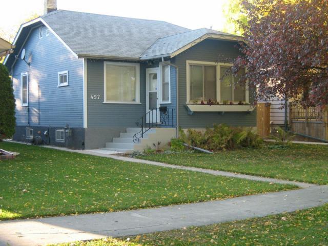 Main Photo: 497 Oxford Street in WINNIPEG: River Heights / Tuxedo / Linden Woods Residential for sale (South Winnipeg)  : MLS®# 1120572
