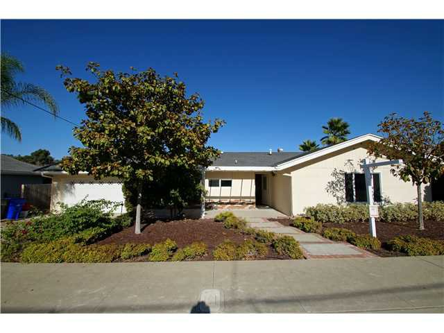 Main Photo: Residential for sale : 3 bedrooms : 5385 Brockbank in San Diego