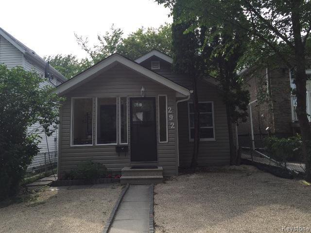 Main Photo: 292 Hampton Street in WINNIPEG: St James Residential for sale (West Winnipeg)  : MLS®# 1519459