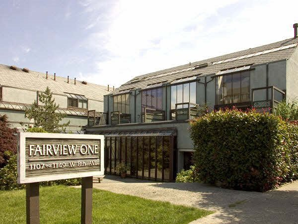 "Main Photo: 1133 W 8TH Avenue in Vancouver: Fairview VW Townhouse for sale in ""FAIRVIEW ONE"" (Vancouver West)  : MLS®# R2019523"