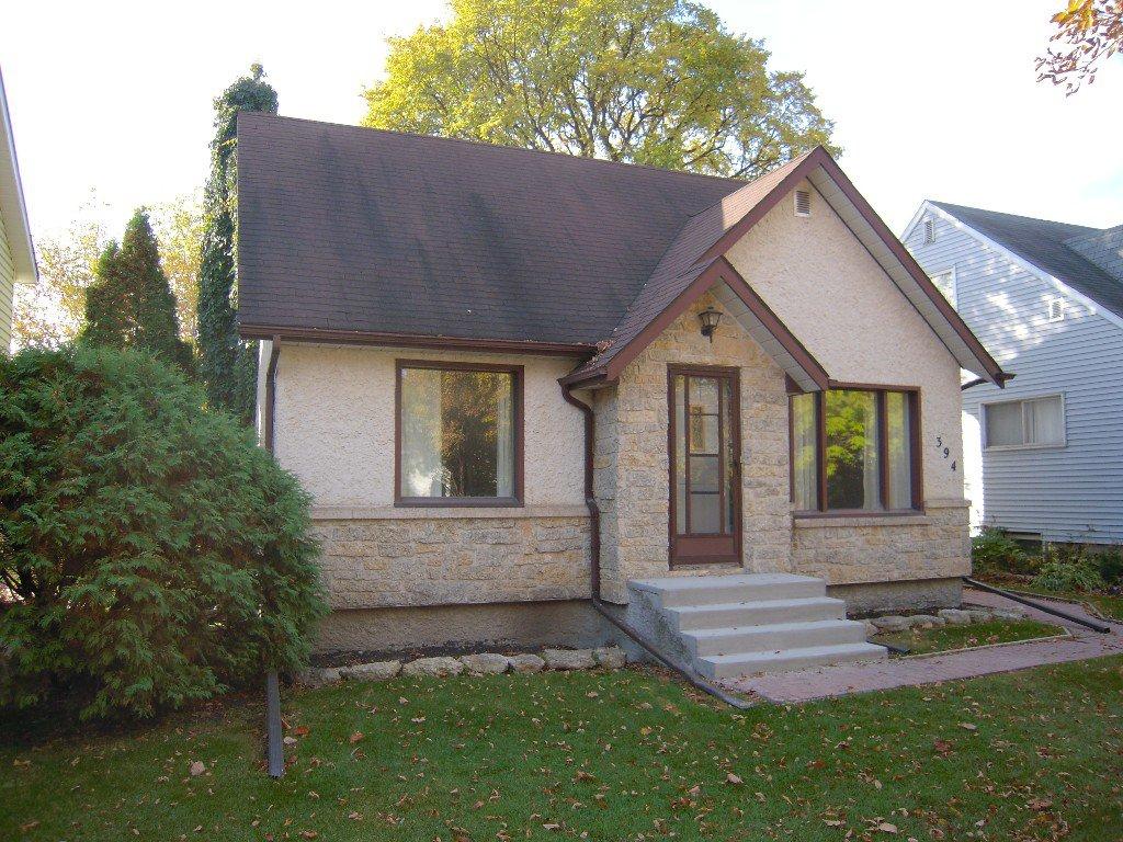 Main Photo: 394 Edgewood Street in Winnipeg: Residential for sale : MLS®# 1322846