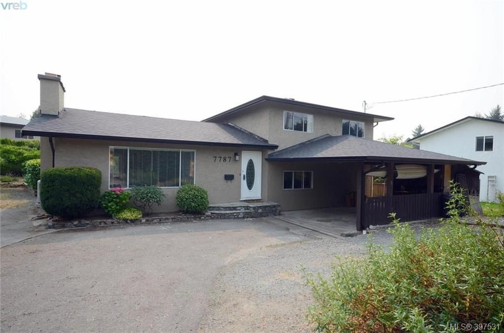 Main Photo: 7787 Wallace Drive in SAANICHTON: CS Saanichton Single Family Detached for sale (Central Saanich)  : MLS®# 397531