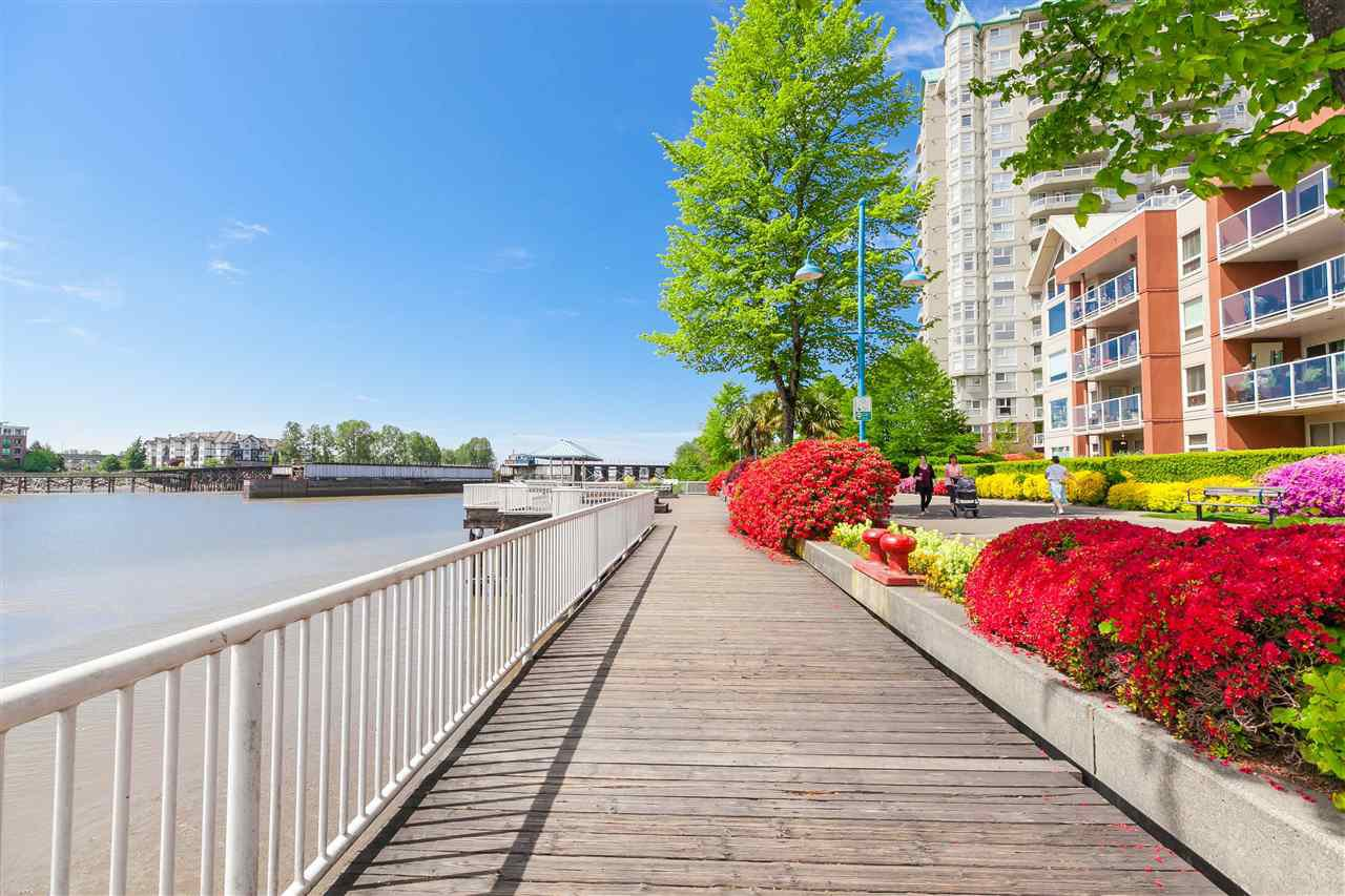 "Main Photo: 106 1230 QUAYSIDE Drive in New Westminster: Quay Condo for sale in ""TIFFANY SHORES"" : MLS®# R2344665"