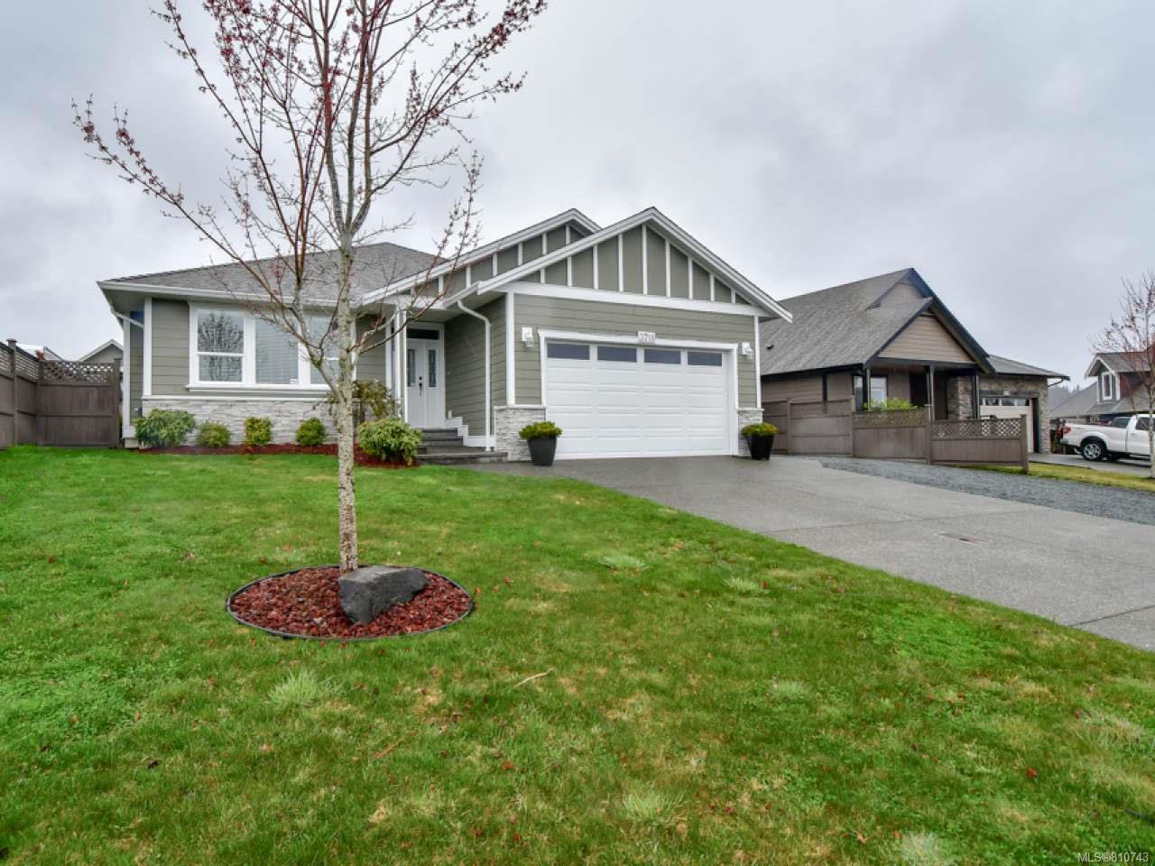 Main Photo: 3718 VALHALLA DRIVE in CAMPBELL RIVER: CR Willow Point House for sale (Campbell River)  : MLS®# 810743