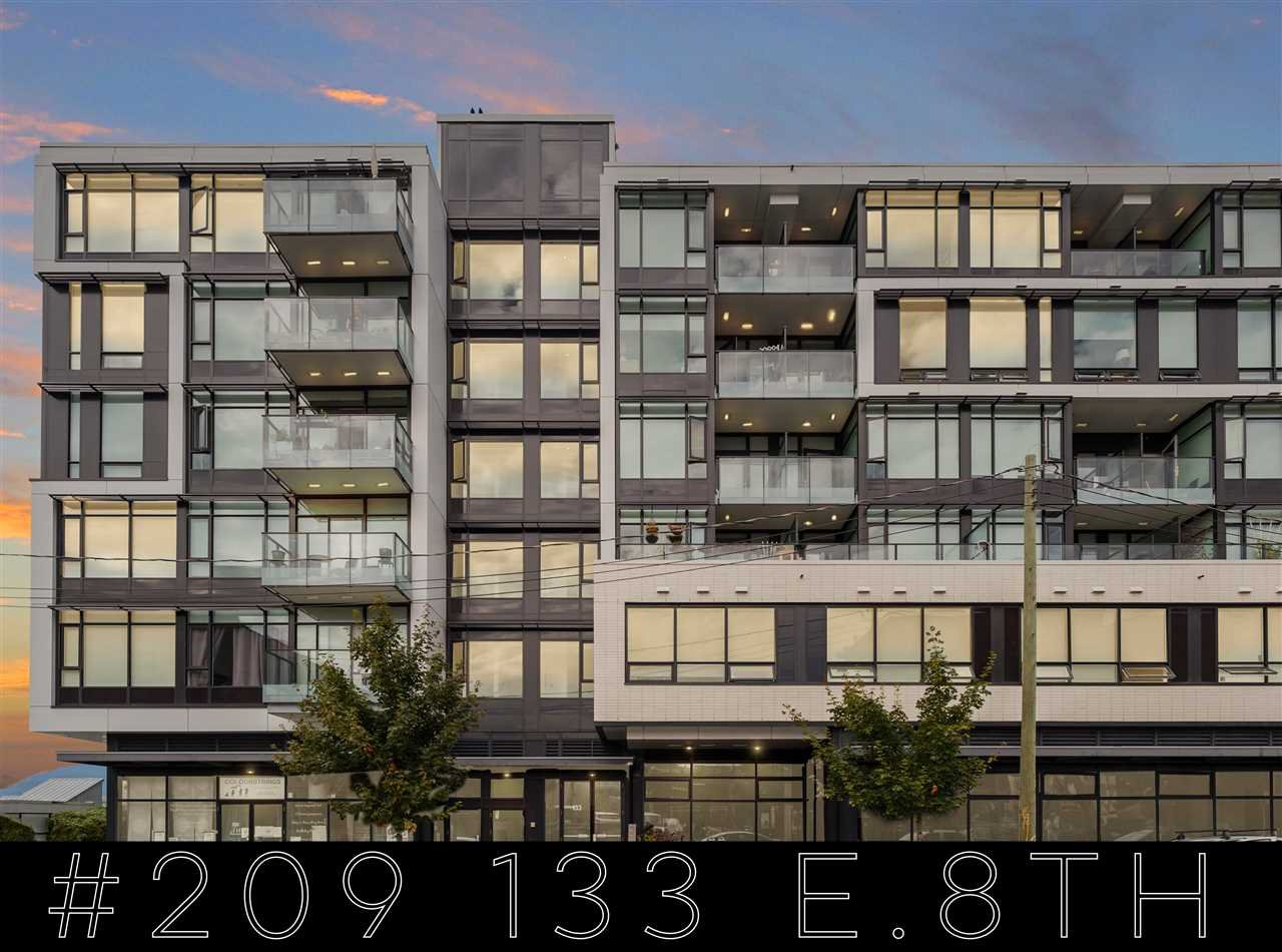 "Main Photo: 209 133 E 8TH Avenue in Vancouver: Mount Pleasant VE Condo for sale in ""Collection 45"" (Vancouver East)  : MLS®# R2501553"