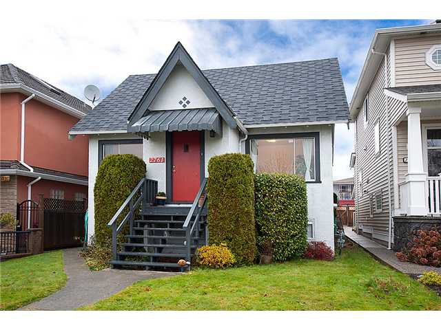 Main Photo: 2761 E 7TH Avenue in Vancouver: Renfrew VE House for sale (Vancouver East)  : MLS®# V920668