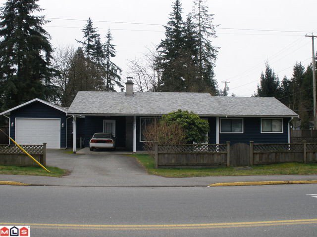 Main Photo: 20022 44 Avenue in Langley: Brookswood Langley House for sale : MLS®# F1007215
