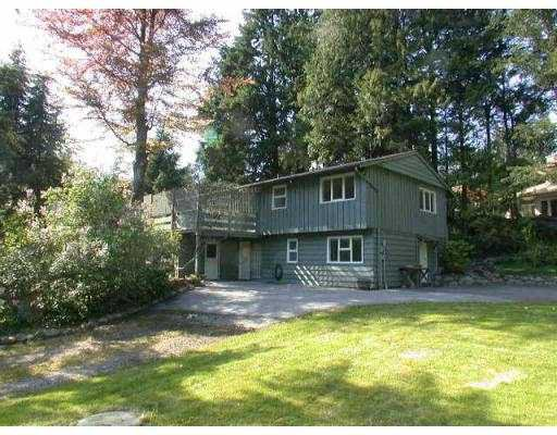 Main Photo: 5651 KEITH RD in West Vancouver: Eagle Harbour House for sale : MLS®# V535367