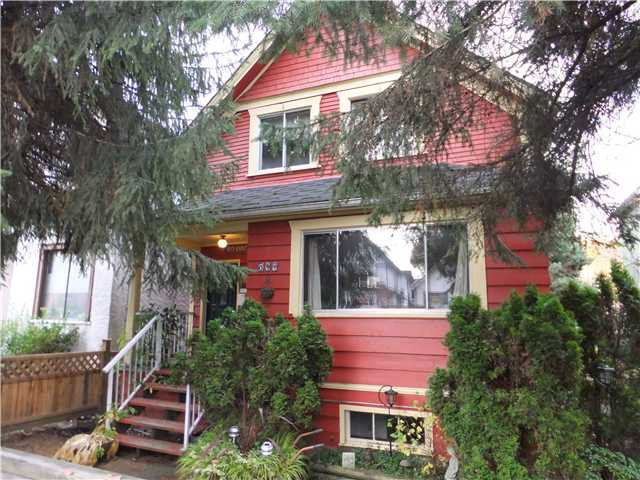 Main Photo: 517 E 11TH AV in Vancouver: Mount Pleasant VE House for sale (Vancouver East)  : MLS®# V1035838