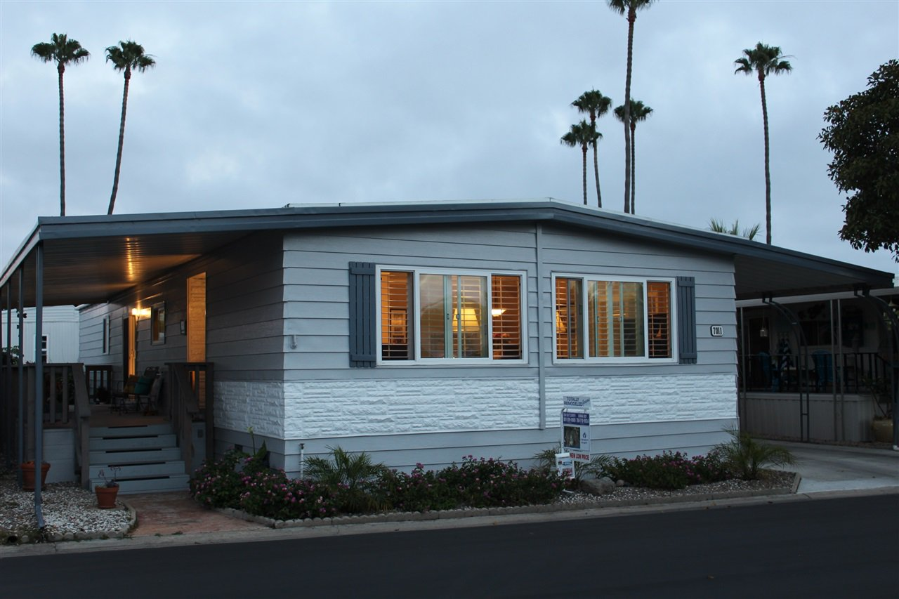 Main Photo: CARLSBAD WEST Manufactured Home for sale : 2 bedrooms : 7011 San Bartolo #35 in Carlsbad