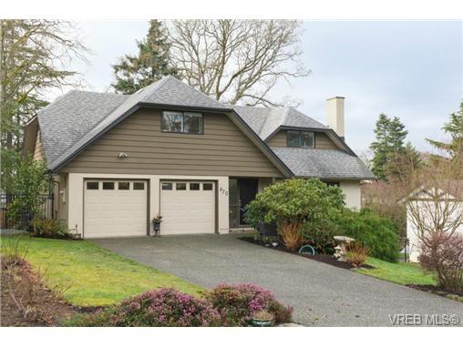 Main Photo: 970 Landeen Pl in VICTORIA: SE Quadra House for sale (Saanich East)  : MLS®# 720474