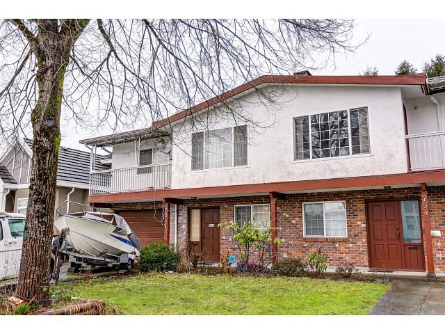 Main Photo: 7541 17TH AVENUE - LISTED BY SUTTON CENTRE REALTY in Burnaby: Edmonds BE House 1/2 Duplex for sale (Burnaby East)  : MLS®# R2030562