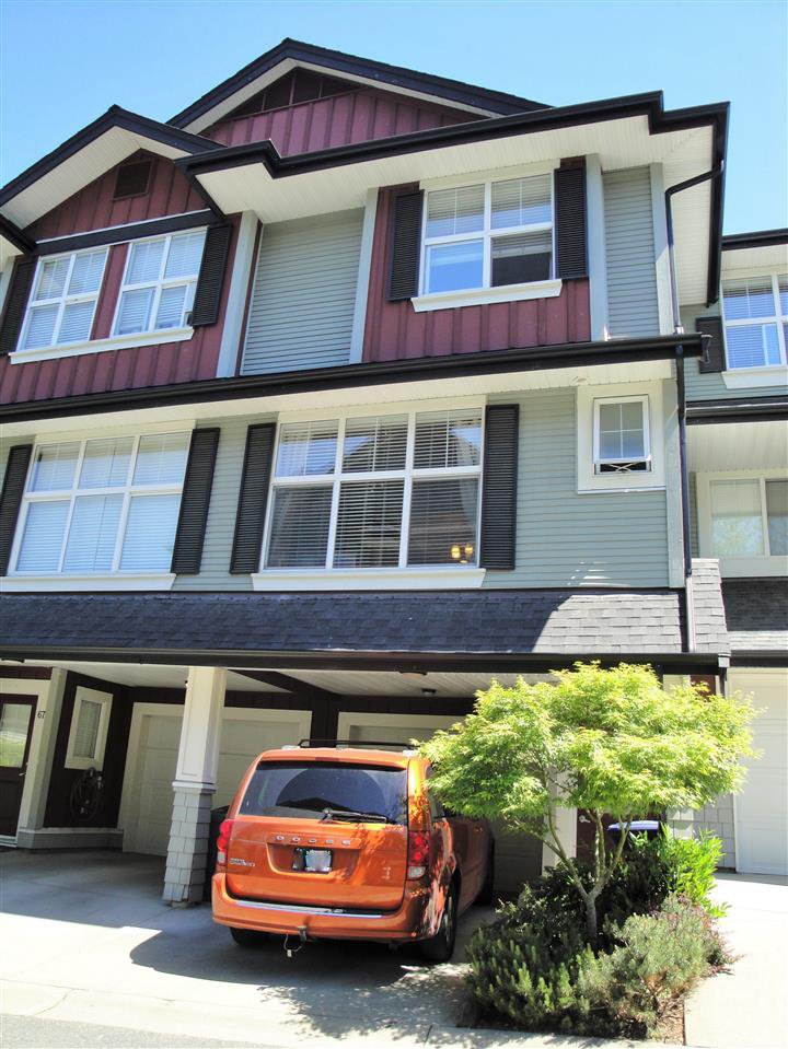 """Main Photo: 66 18199 70 Avenue in Surrey: Cloverdale BC Townhouse for sale in """"Augusta"""" (Cloverdale)  : MLS®# R2068016"""