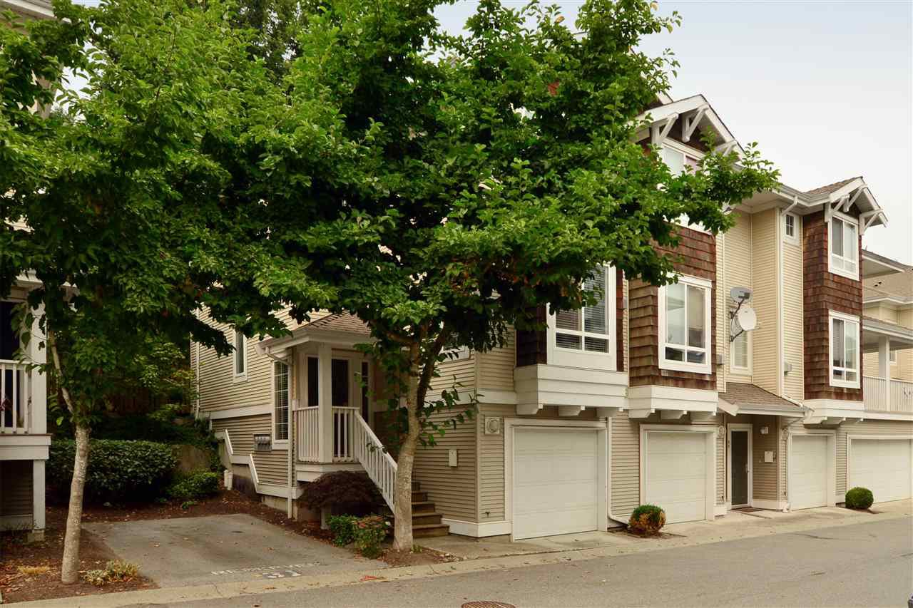 "Main Photo: 63 15030 58 Avenue in Surrey: Sullivan Station Townhouse for sale in ""Summerleaf"" : MLS®# R2202602"
