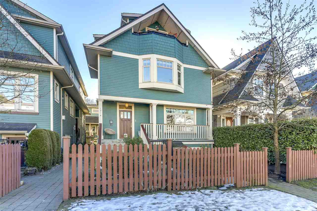 Main Photo: 1514 GRAVELEY Street in Vancouver: Grandview VE Townhouse for sale (Vancouver East)  : MLS®# R2343724