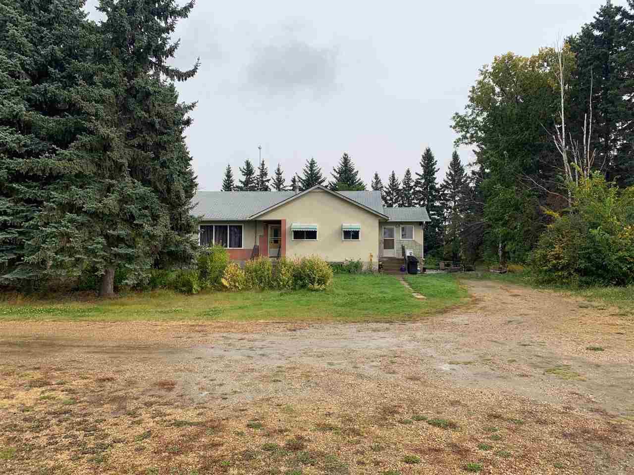 Main Photo: 24509 TWP RD 542: Rural Sturgeon County House for sale : MLS®# E4175743