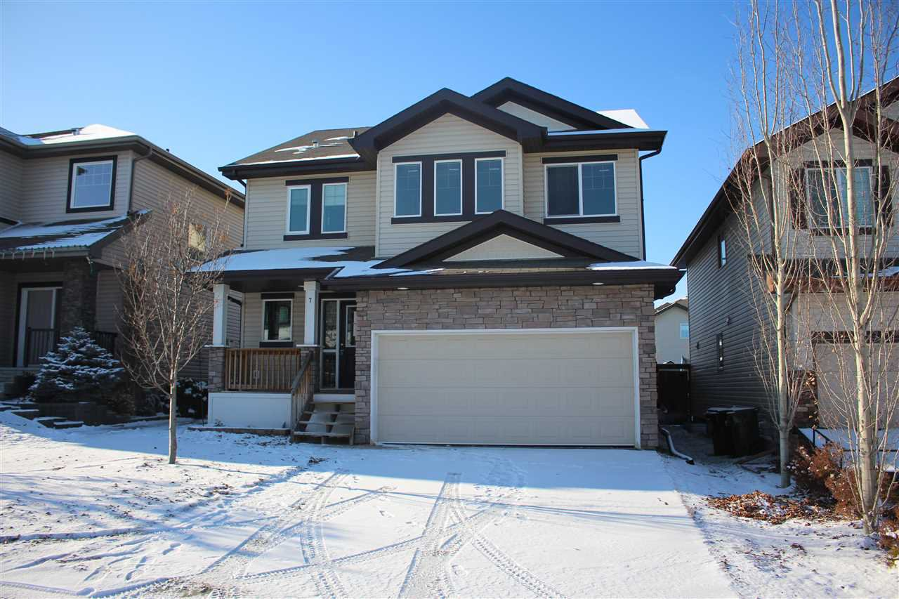 Main Photo: 7 VIVIAN Way: Spruce Grove House for sale : MLS®# E4179505
