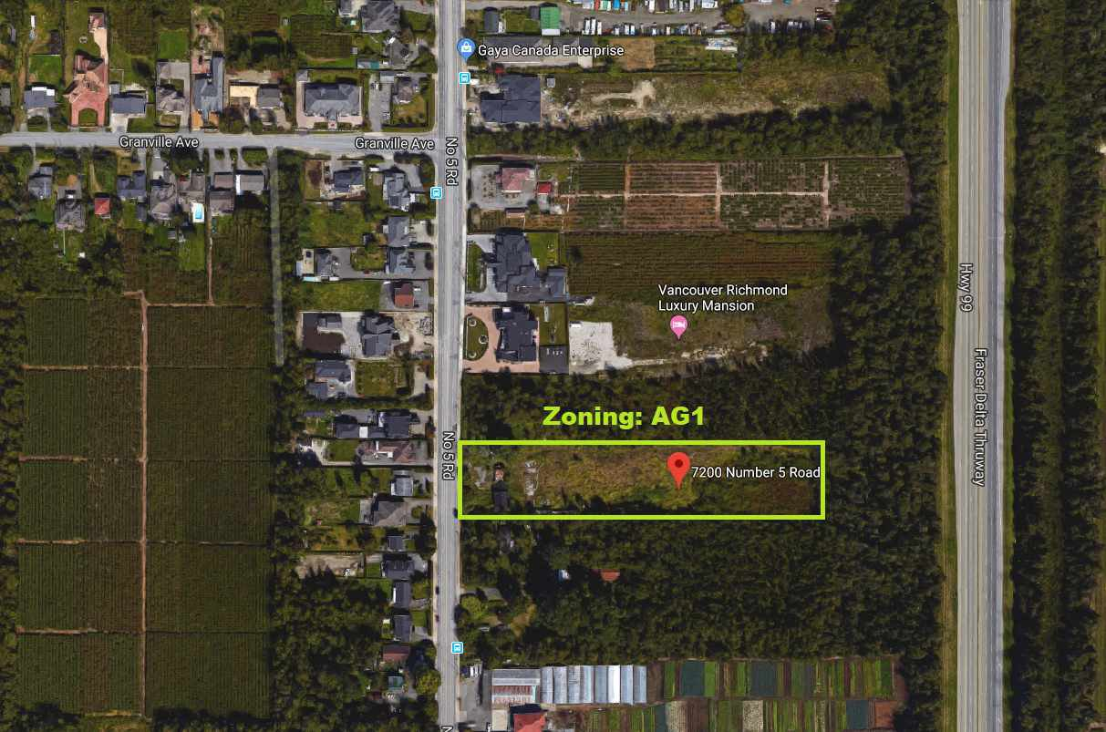 Main Photo: 7200 No.5 Road in Richmond: Land for sale