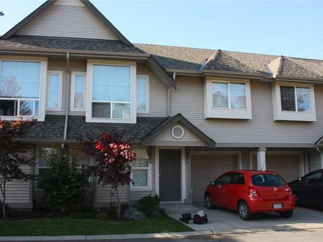 "Main Photo: 39 23085 118TH Avenue in Maple Ridge: East Central Townhouse for sale in ""SOMMERVILLE GARDENS"" : MLS®# V918734"