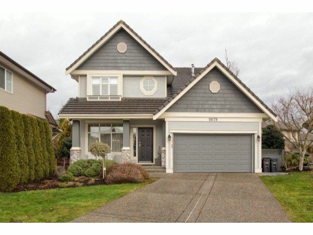 Main Photo: 18179 66TH Avenue in Surrey: Cloverdale BC House for sale (Cloverdale)  : MLS®# F1304835
