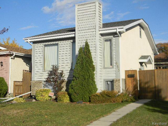 Main Photo: 653 Denson Place in WINNIPEG: West End / Wolseley Residential for sale (West Winnipeg)  : MLS®# 1323286
