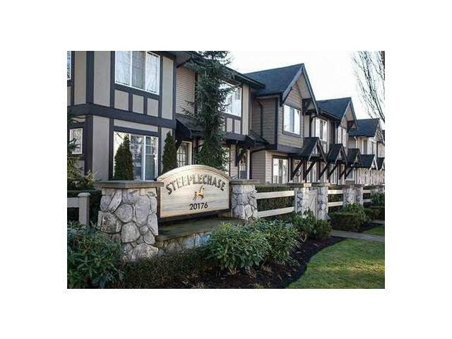 "Main Photo: 55 20176 68TH Avenue in Langley: Willoughby Heights Townhouse for sale in ""STEEPLECHASE"" : MLS®# F1413179"