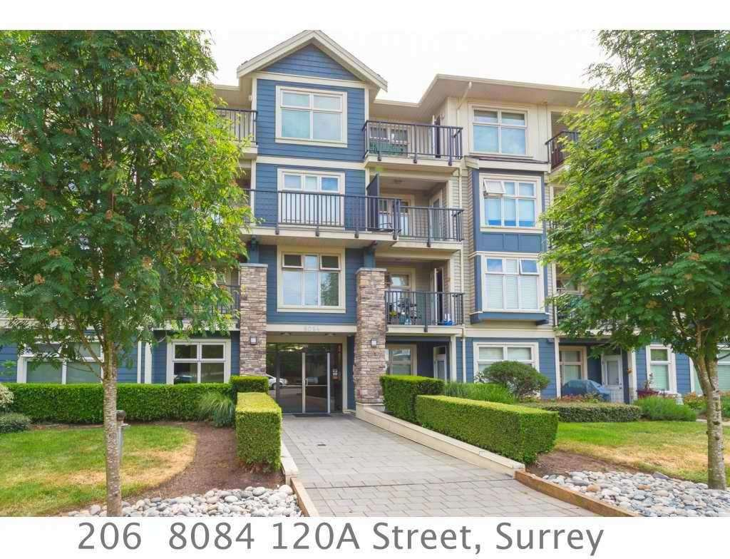 "Main Photo: 206 8084 120A Street in Surrey: Queen Mary Park Surrey Condo for sale in ""THE ECLIPSE"" : MLS®# R2069146"