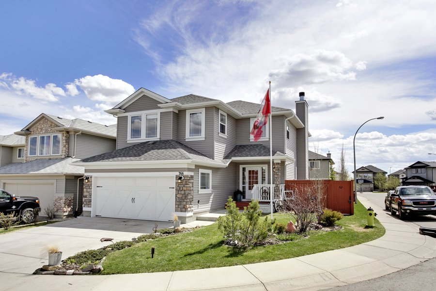 Main Photo: 766 Fairways Green NW in Airdrie: 2 Storey for sale : MLS®# C3616941