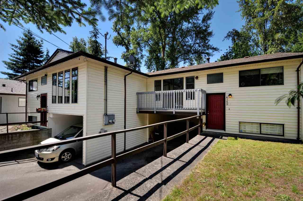 Main Photo: 6160 - 6162 MARINE Drive in Burnaby: Big Bend Duplex for sale (Burnaby South)  : MLS®# R2156195