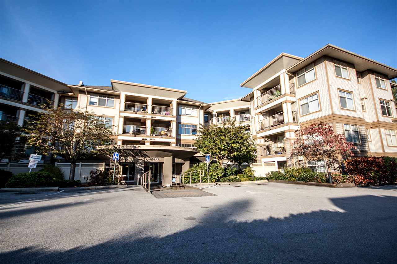 "Main Photo: 118 12248 224 Street in Maple Ridge: East Central Condo for sale in ""URBANO"" : MLS®# R2219429"