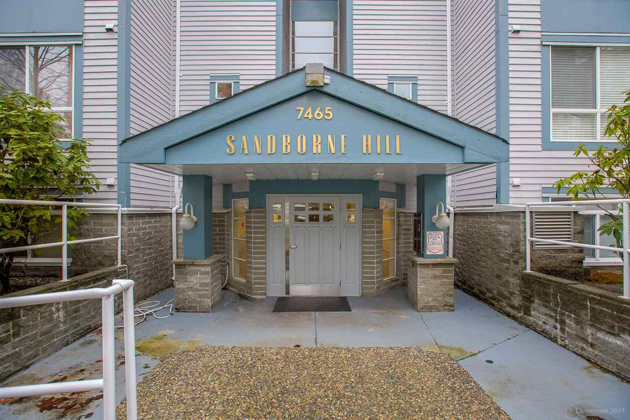 "Main Photo: 205 7465 SANDBORNE Avenue in Burnaby: South Slope Condo for sale in ""Sandborne Hill"" (Burnaby South)  : MLS®# R2235672"