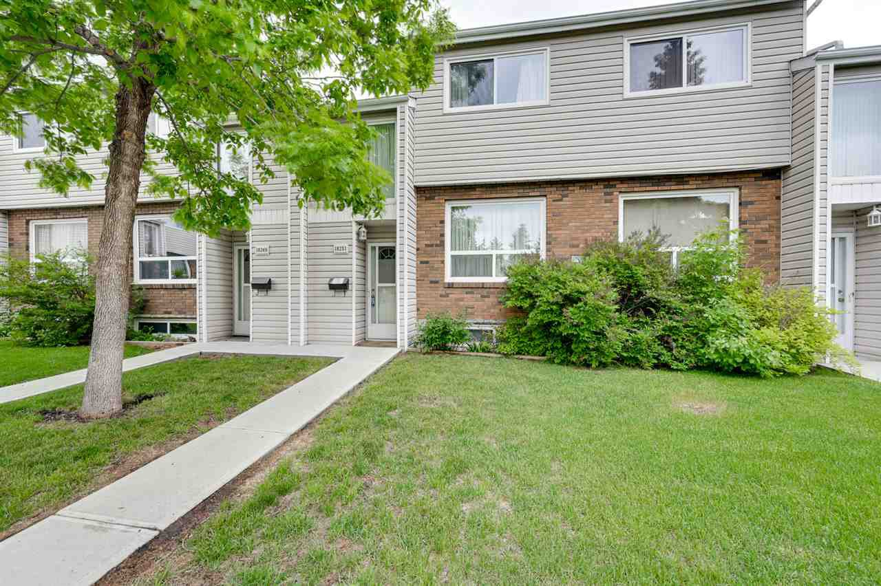 Main Photo: 18251 93 Avenue in Edmonton: Zone 20 Townhouse for sale : MLS®# E4160911