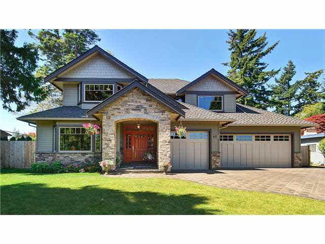 Main Photo: 411 KERRY DRIVE in : Pebble Hill House for sale : MLS®# V955192