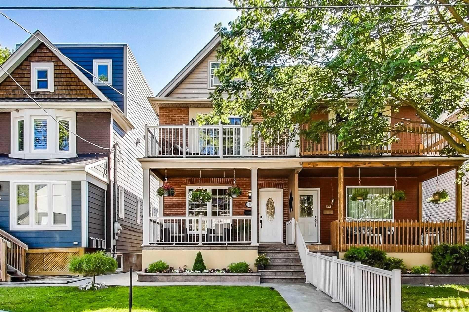 Main Photo: 21 Woodfield Road in Toronto: Greenwood-Coxwell House (3-Storey) for sale (Toronto E01)  : MLS®# E4838280