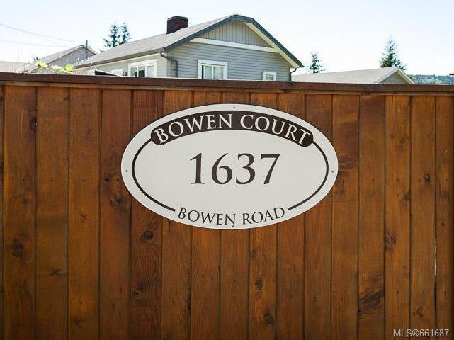 Main Photo: 5 1637 Bowen Rd in NANAIMO: Na Central Nanaimo Row/Townhouse for sale (Nanaimo)  : MLS®# 661687