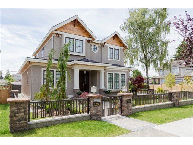Main Photo: 2396 W 20TH Avenue in Vancouver: Arbutus House for sale (Vancouver West)  : MLS®# V1056522