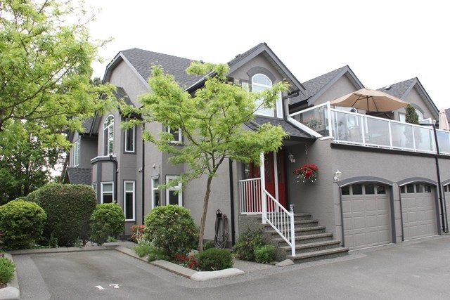 """Main Photo: 28 4740 221 Street in Langley: Murrayville Townhouse for sale in """"Eaglecrest"""" : MLS®# R2066258"""