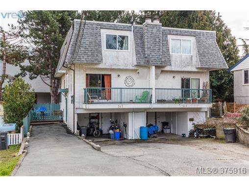 Main Photo: 547 Paradise St in VICTORIA: Es Esquimalt Half Duplex for sale (Esquimalt)  : MLS®# 754668