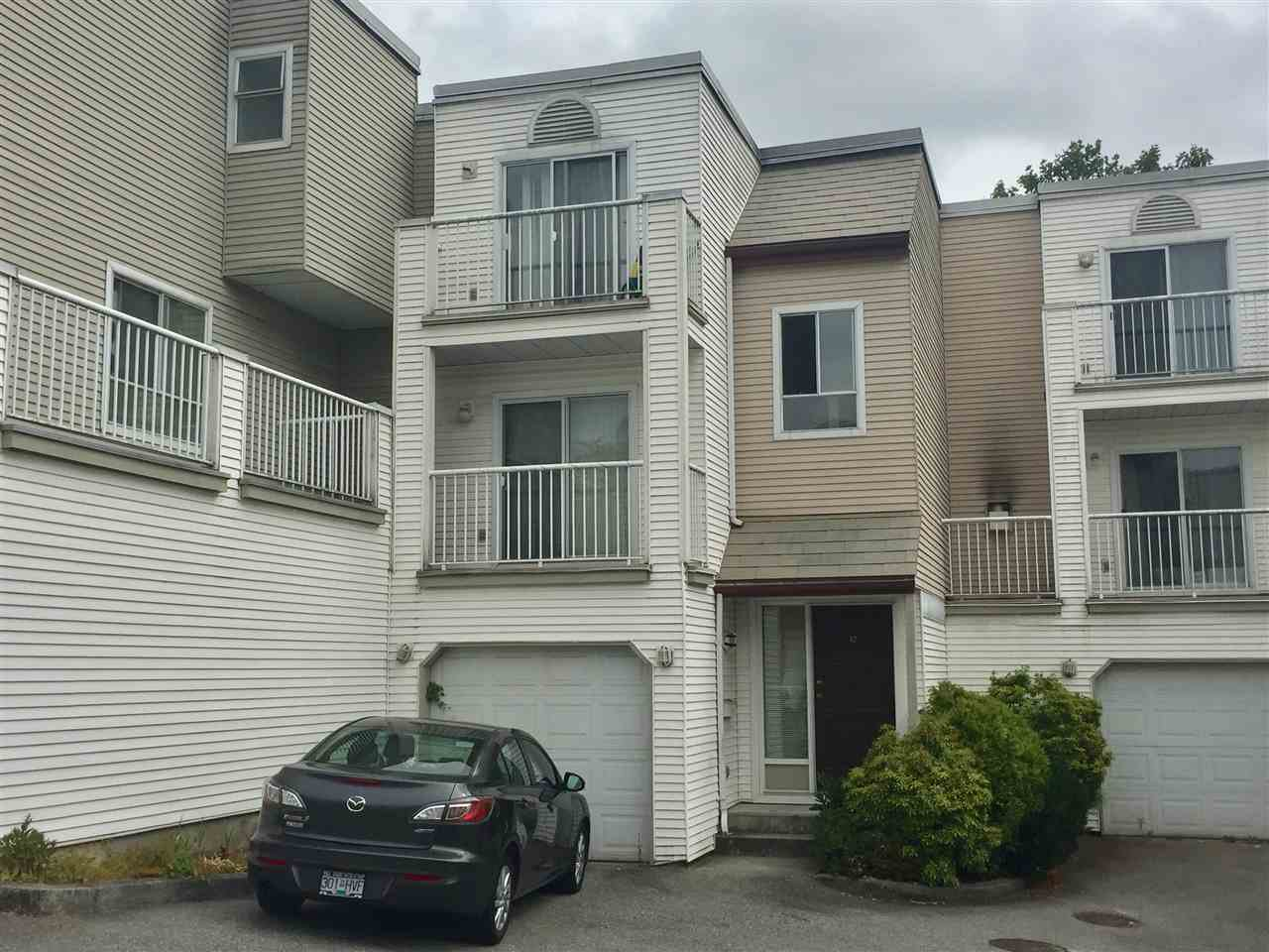 Main Photo: 12 1850 HARBOUR STREET in : Citadel PQ Townhouse for sale : MLS®# R2198105