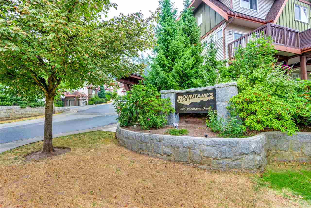 """Main Photo: 101 2000 PANORAMA Drive in Port Moody: Heritage Woods PM Townhouse for sale in """"MOUNTAINS EDGE"""" : MLS®# R2309703"""