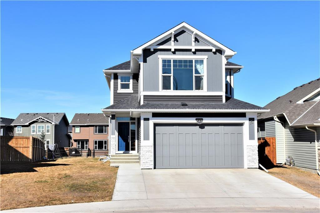 Main Photo: 144 AUBURN MEADOWS Crescent SE in Calgary: Auburn Bay Detached for sale : MLS®# C4236973