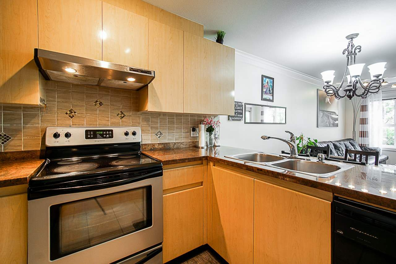 "Main Photo: 309 8115 121A Street in Surrey: Queen Mary Park Surrey Condo for sale in ""THE CROSSINGS"" : MLS®# R2438365"