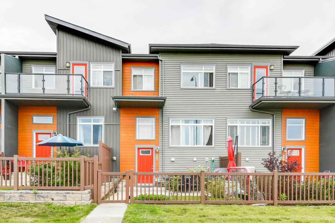 Main Photo: 55 7503 GETTY Gate in Edmonton: Zone 58 Townhouse for sale : MLS®# E4196912