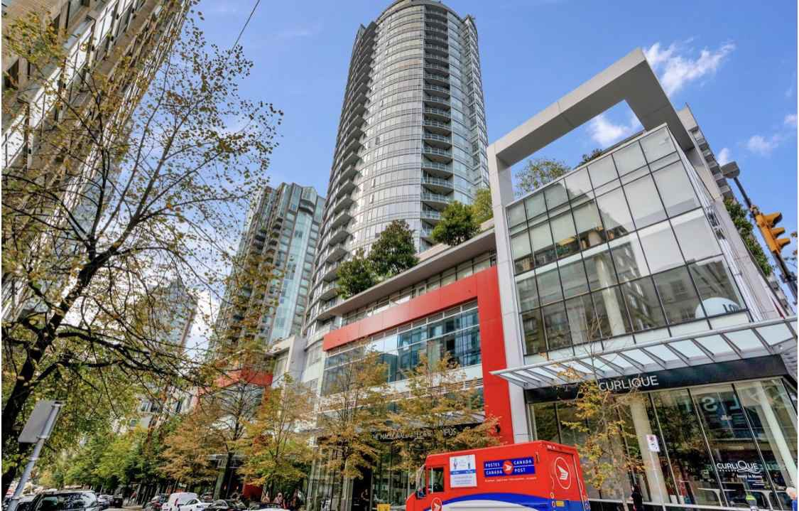 Main Photo: 1908 833 HOMER Street in Vancouver: Downtown VW Condo for sale (Vancouver West)  : MLS®# R2524751