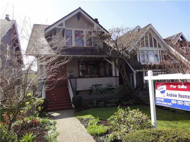 Main Photo: 2006 WHYTE Avenue in Vancouver: Kitsilano House for sale (Vancouver West)  : MLS®# V876519