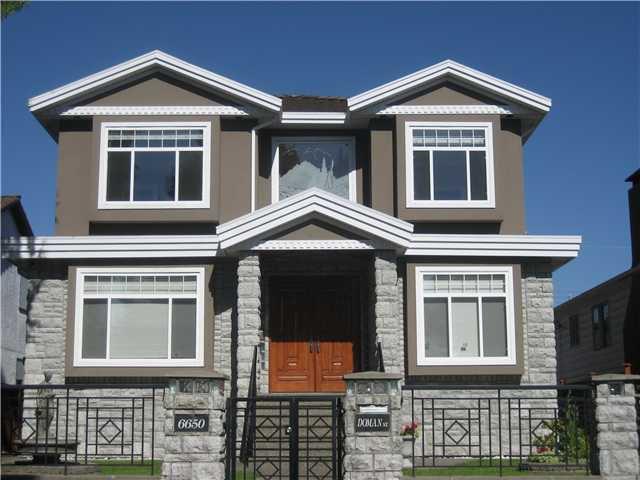 Main Photo: 6650 DOMAN Street in Vancouver: Killarney VE House for sale (Vancouver East)  : MLS®# V897918