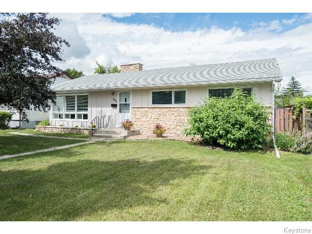 Main Photo: 310 Moray Street in WINNIPEG: St James Residential for sale (West Winnipeg)  : MLS®# 1519921