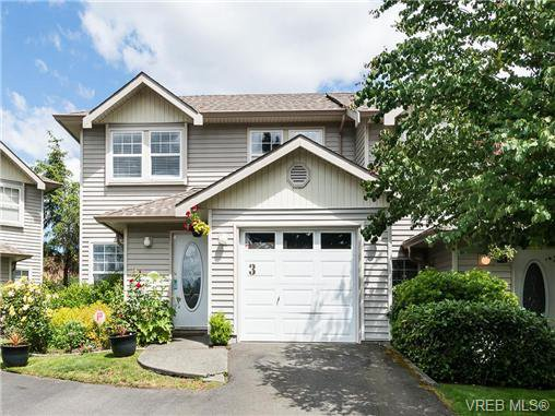 Main Photo: 3 2563 Millstream Rd in VICTORIA: La Atkins Row/Townhouse for sale (Langford)  : MLS®# 731961