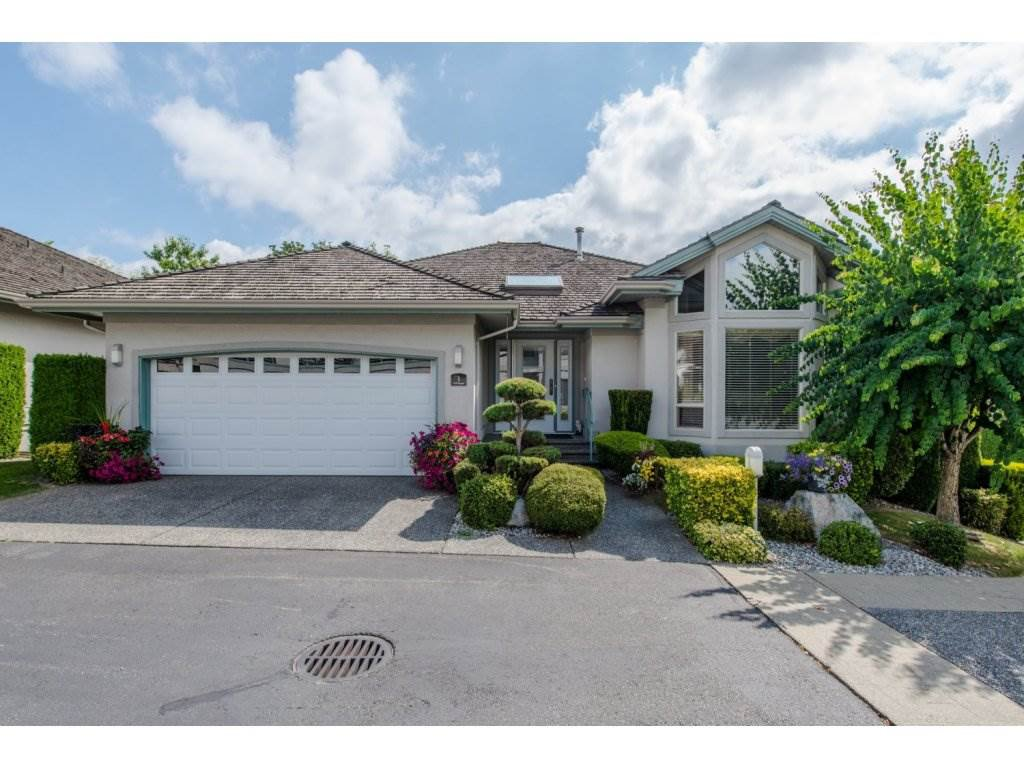"Main Photo: 1 3555 BLUE JAY Street in Abbotsford: Abbotsford West Townhouse for sale in ""Slater Ridge Estates"" : MLS®# R2100421"