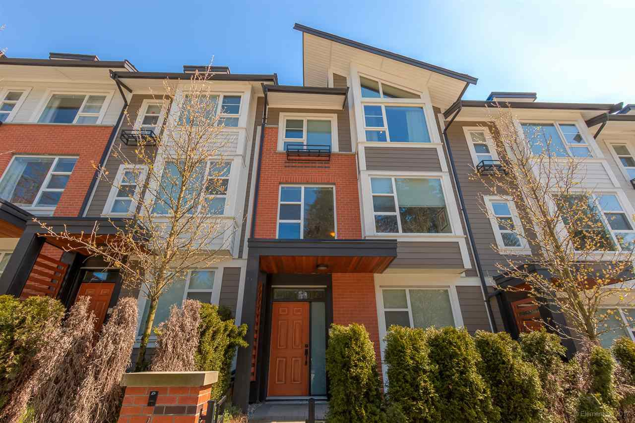 Main Photo: 4 1299 COAST MERIDIAN Road in Coquitlam: Burke Mountain Townhouse for sale : MLS®# R2156577